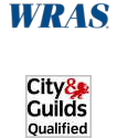 WRAS registered company - City & Guilds Qualified